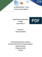 Informe Individual Unidad 1 – Tarea 2