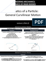 ME 266 Lecture 1.2 - Kinematics of a Particle_ General Curvilinear Motion