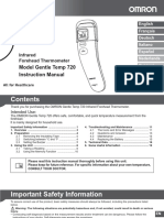 Omron Forehead Thermometer Instruction Manual.pdf