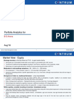 Portfolio Analytics_B S Arora