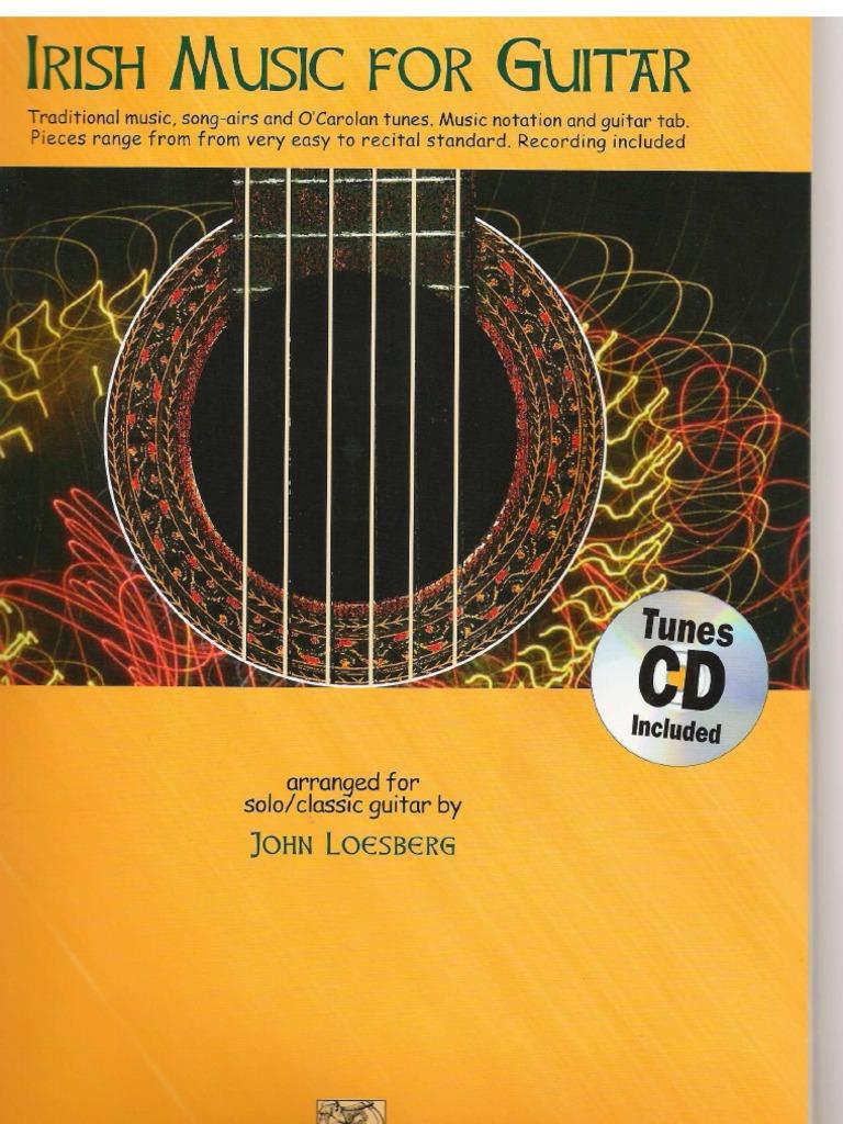 Loesberg John Irish Music For Classical Guitar Notation Tab