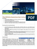 What Will Hit the Chemical Sector Most