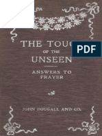 The thouch of answers tot prayer