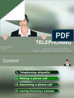 Telephoning Lesson 2