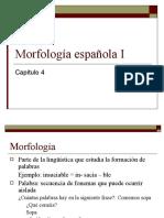 Morfologia espanola I