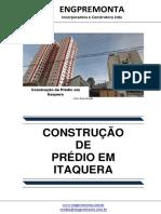 Construção de Prédio Em Itaquera