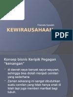 Kewirausahaan (konsep bisnis)