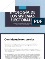 Tipología de los sistemas electorales