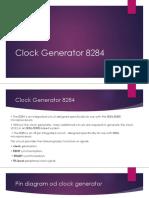 Clock Generator 8284
