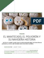 El mantecado, el polvorón y su navideña historia | El Comidista EL PAÍS