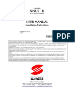 Santurno-Sinus-K-Manual-Installation-Instructions