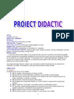 proiect geografie primar