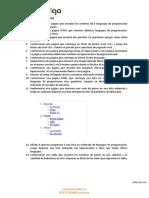 Ejercicios Propuesto de HTML y CSS