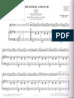 Silva Pattapio Premier Amour-Piano Score