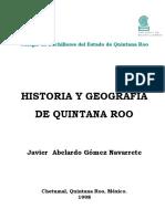 Historia y Geografia de Quintana Roo Javier A.
