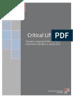 Critical Lift Plan Checklist