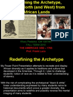 An Examinaton of African Culture in the Americas