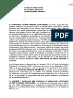 2019 septiembre  Amparo contra el emplazamiento FRANCISCO JAVIER CORONEL CERVANTES contra provisional (1)