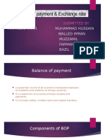 Balance of payment & Exchange rate.pdf