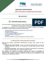 Organisation administrative, 2ème partie
