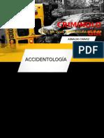 ACCIDENTOLOGIA VIAL -CRIMINOLOGIA