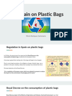 EU & Spain on Plastic Bags