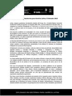 Anuncio Oficial del Diplomado en Geotermia para América Latina_2019