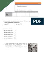 Matemática 5º Ano - Preparação Teste Fevereiro