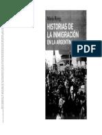 Historia de la inmigracion