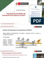 2.-PPT 2  a LINEAMIENTOS DE PS Y GTS