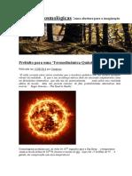 Questões Cosmológicas- Bachelard
