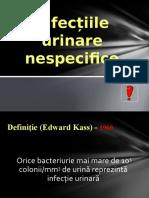 1. Infectiile Urinare Nespecifice COMPATIBIL