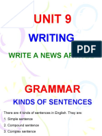 KINDS OF SENTENCES