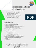 Capacitaciones Nº3 Tipos de organización físicas de instalaciones