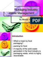 Food Packaging Industry Waste Management