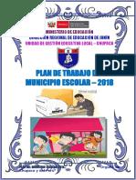 PLAN ANUAL DEL MUNICIPIO ESCOLAR IEP JORGE BASADRE 2018