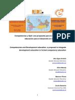 Competencias y EpD