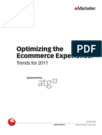 eMarketer Optimizing the eCommerce Experience