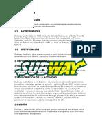 Proyecto Subway COSTOS 1 (2)