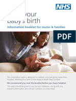 Nw Postnatal Booklet Final