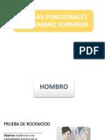 PRUEBAS FUNCIONALES HOMBRO