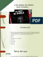Analisis de Las Babas Del Diablo