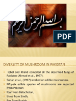 Reported species of mushroom in Pakistan  from upto year 1997