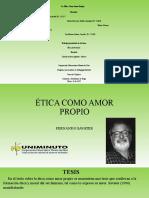 ÉTICA COMO AMOR PROPIO (2)