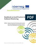 Handbook on Good Practices in Sediment Monitoring