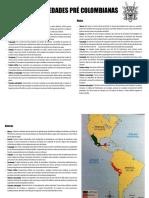 SOCIEDADES PRE COLOMBIANAS