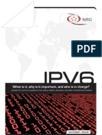What is IPv6 and who is Charge?