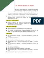 CONCEPTO DEL DERECHO PROCESAL DE TRABAJO WORD
