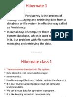 Hibernate Notes by Sriman
