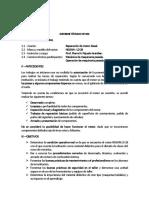 CECATEP - Informe Motor LD 28